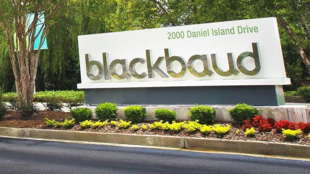 Non-Profits Raising Cash on Cloud Says Blackbaud CEO