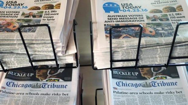 Tribune Says No to Gannett, As Institutional Shareholders Balk
