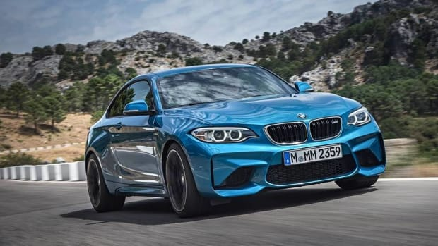 BMW's New M2 Goes Zero to Sixty in Just over Four Seconds