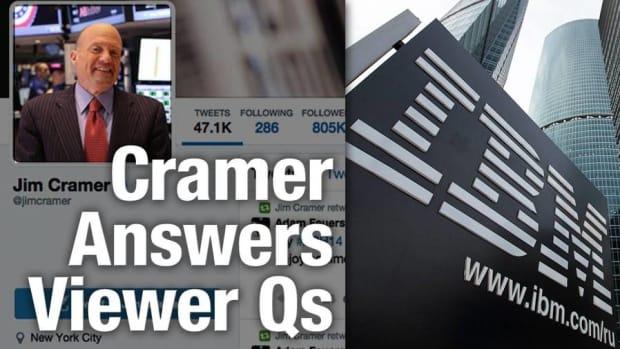 Warren Buffett Is Satisfied With IBM, but Jim Cramer Wants More