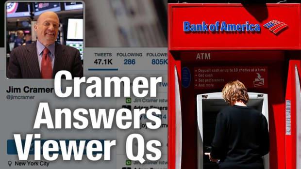 Jim Cramer Buying More Bank of America Shares; Likes GE, Kroger