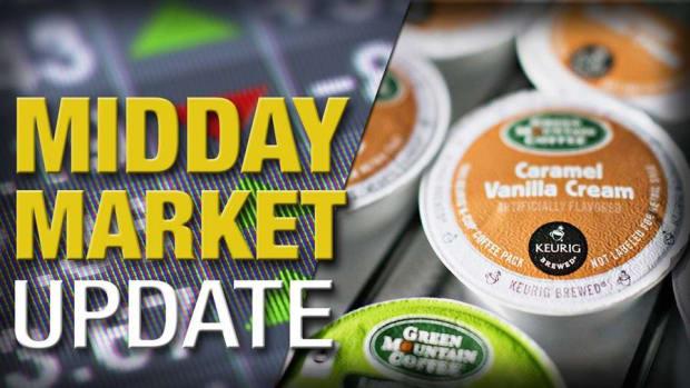 Midday Report: Keurig Deal Boosts Peers; Energy Stocks Slump