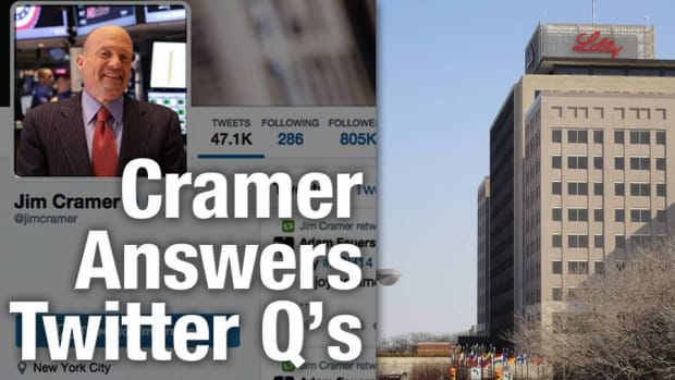 Cramer's Hillary Proof Health Stocks Are Eli Lilly and Bristol Myers