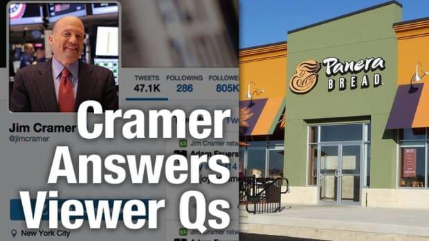Jim Cramer Says Buy Panera, WhiteWave, and Target but Avoid GoPro