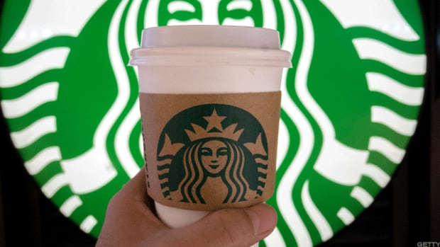 Starbucks sales