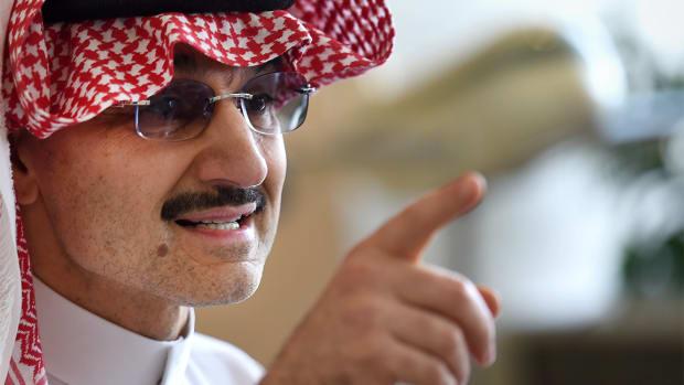 Saudi Prince al-Waleed's Arrest Isn't Worrying Stock Market Investors
