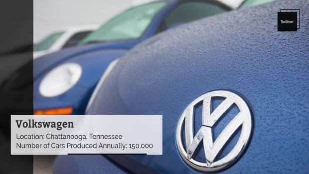 These Foreign Car Companies Have Pretty Big U.S. Manufacturing Plants