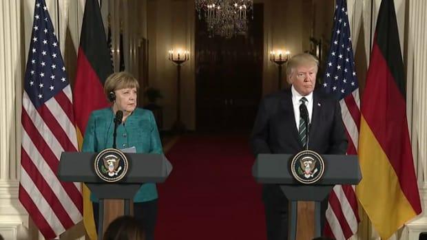 Trump Slams Germany's 'Massive' Trade Surplus as War of Words With Merkel Escalates