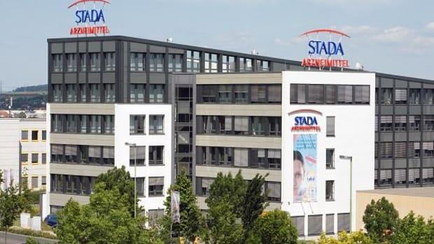 Stada Arzneimittel Shares Hit Fresh Record High as Bidding War Escalates