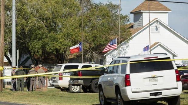 Trump Calls Texas Church Shooting 'Sad Event' After 26 Killed in Sunday Rampage