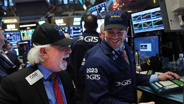 Nasdaq Hits Another Record Close While the Dow Flounders