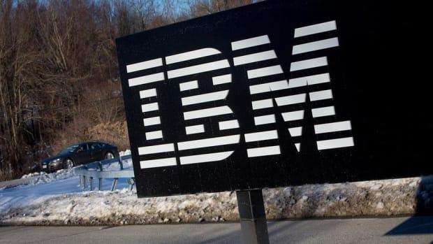 Midday Report: IBM Drags Dow Lower; April Jobs Report Ups June Hike Chances