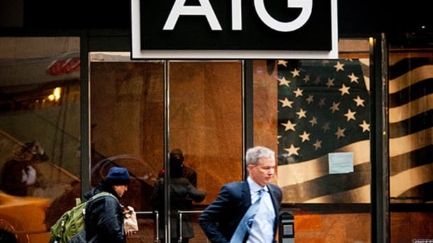 AIG Adds Over $800 Million to Reserves, Stock Falls