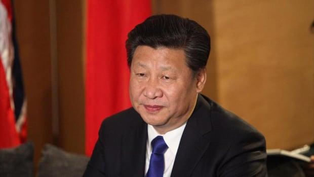 President Donald Trump and China's Leader Xi Talk North Korea
