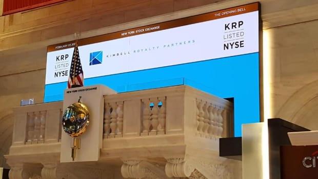 Kimbell Royalty Partners Goes Public at the NYSE Friday