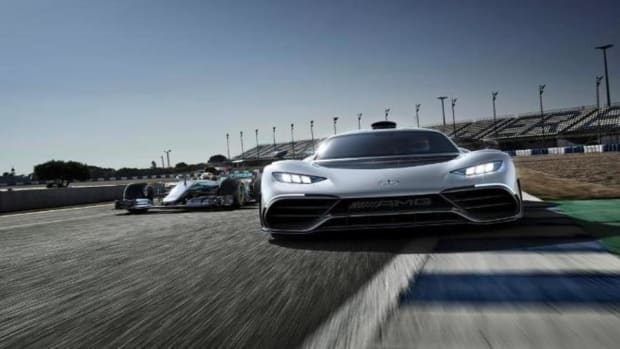 The Mercedes-AMG Project ONE is Beautiful and Terrifying