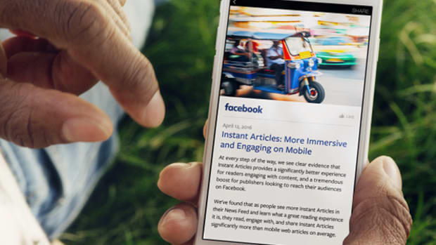 Facebook's Instant Articles Just Isn't Making Enough Money for Publishers