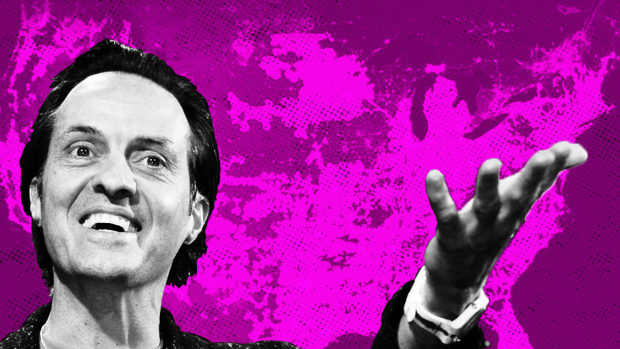 T-Mobile CEO Legere Brings Smack Talk to Pay TV With Layer 3 Deal
