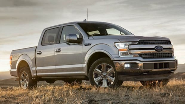 A Ford Pickup Truck That Can Be Driven Without Hands Is the Future