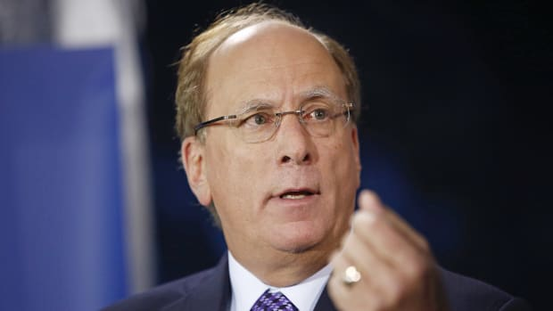 BlackRock's Larry Fink Thinks the Stock Market Is Fully Valued, Due for One Harsh Surprise