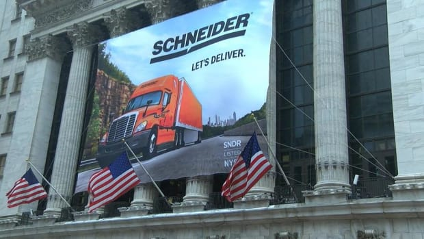 Here Is Why One Publicly Trading Trucking Company Is Embracing Self-Driving Trucks