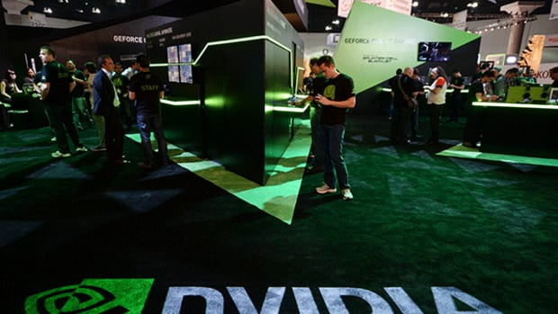 3. Things may be getting a bit frothy for Nvidia and Tesla