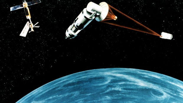 16. Space-Based Laser
