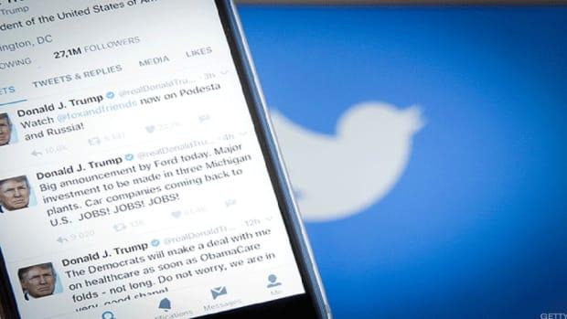 Video: Tweeter-in-Chief Donald Trump's Most Memorable Market Moving Tweets