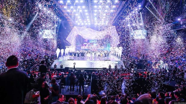 Alibaba's Signature Singles' Day Event Rakes in Record $25 Billion