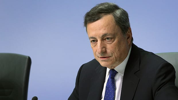 ECB's Draghi Sees No Cause to Change Policy Direction