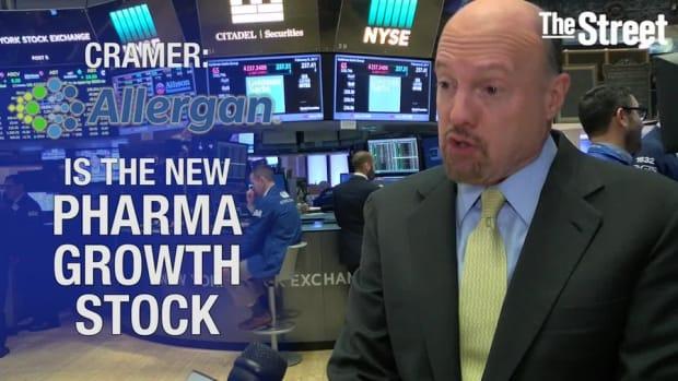 Cramer: Allergan Is the New Pharma Growth Stock