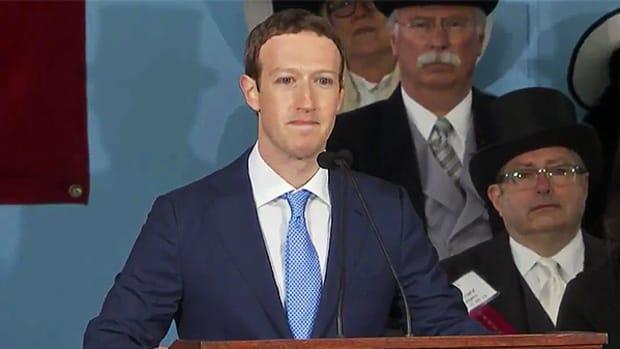 "Mark Zuckerberg - ""Create a new sense of purpose."""