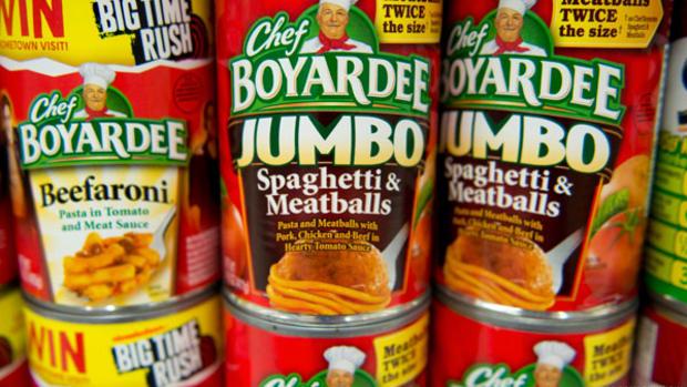 Conagra Stock Dips, Chef Boyardee Recalls Over 700,000 Pounds of Spaghetti and Meatballs