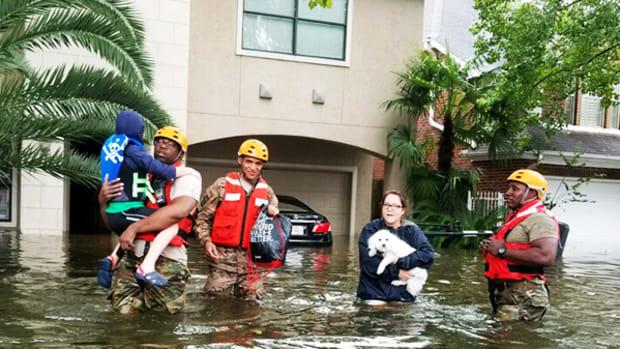 U.S. Flood-Insurance Program Faces $9 Billion Harvey Hit, Exhausting Funds