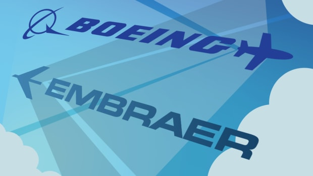 Embraer Stock Soars, Boeing Sinks on Deal Talks