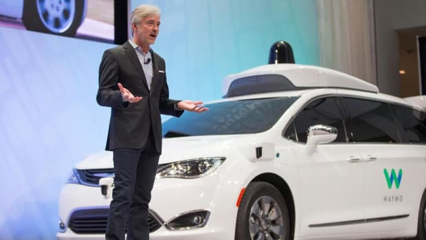Jim Cramer on Reports Alphabet's Waymo is Developing Self-Driving Trucks