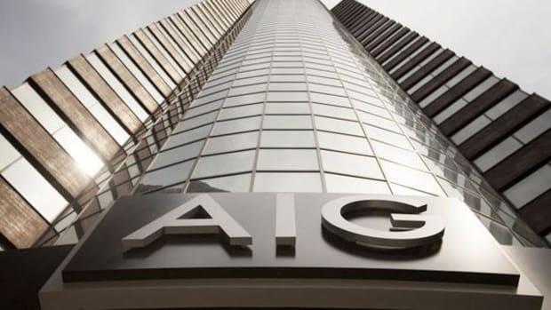 4. American International Group (AIG): Buy