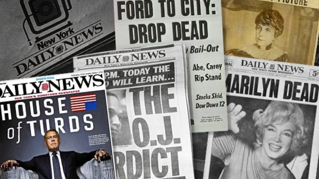NY Daily News Has Had Big Moments Over the Past 100 Years