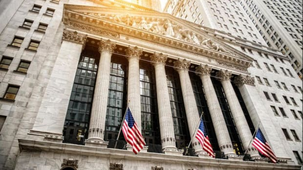 Dow Powers to New Record, Nears 23,000