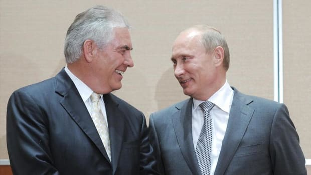 If Rex Tillerson Becomes Secretary of State, Oilfield Services Cos. See Possibility for Profit