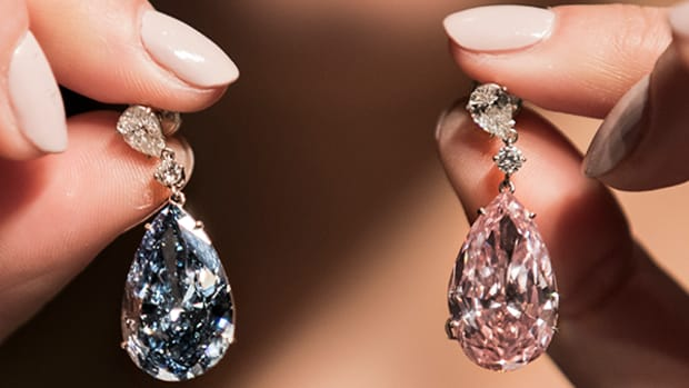 Sotheby's Sets Record For Most Expensive Earrings