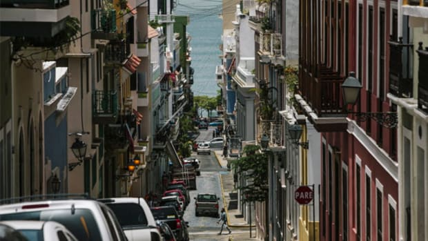 Hurricane Irma on a Path for Bankrupt Puerto Rico