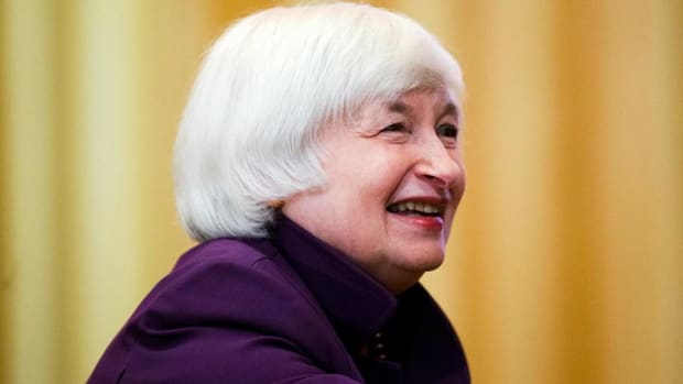 Janet Yellen Staying as Fed Chair Would Be Good for Markets: David Rubenstein
