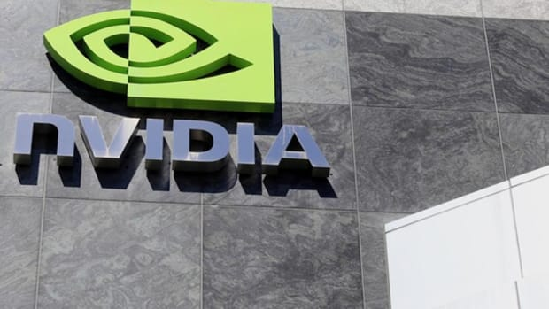 Midday Report: Nvidia Rebounds From Friday Slump; Dow Jumps More Than 100 Points