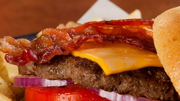 On National Cheeseburger Day We Remember the Most Humongous Burgers We Ever Ate