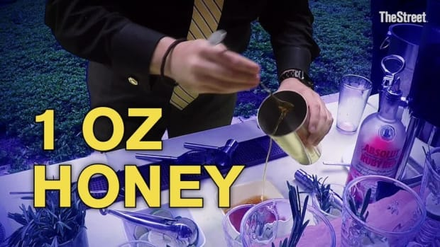 DIY Honey Cocktail Perfect for National Vodka Day