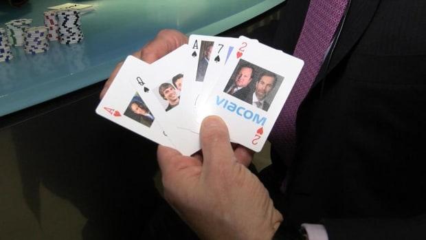 Jim Cramer Plays Power Poker at the New York Stock Exchange