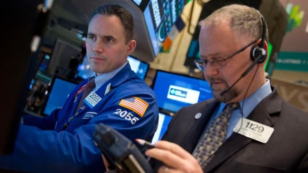 Dow Closes at Record High as Stocks Power Higher