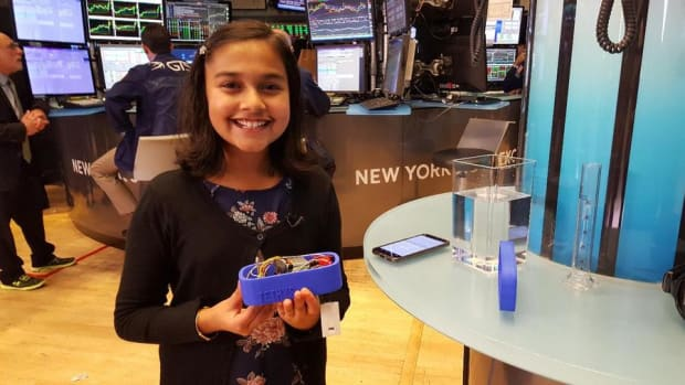 'America's Top Young Scientist' Shows Us Her Portable Lead Testing Device