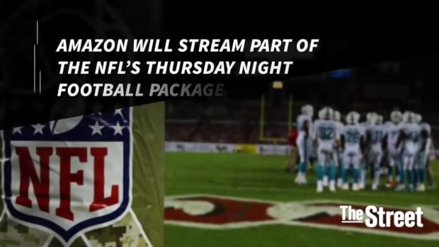Amazon and NFL Sign $50 Million Streaming Deal